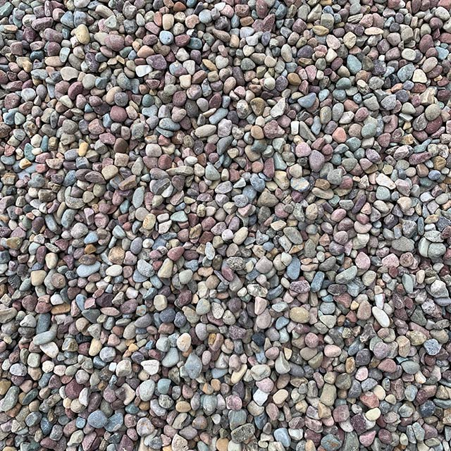 Rainbow Pea Gravel